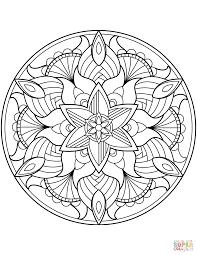 Disegno Mandala Colorato Disegni Colorati Di Mandala T