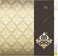 Motif Designs Wallpaper Seamless Wallpaper Pattern Stock Vector Illustration Of