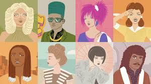 20世紀のヘアスタイルの歴史がアニメーションでまとめてわかるムービー