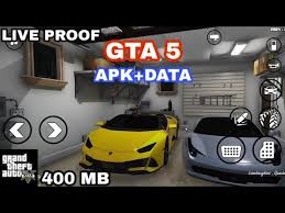 gta 5 on android apk data