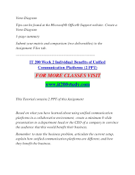 Microsoft Office Venn Diagram It 200 Study Become Exceptional It200study Com
