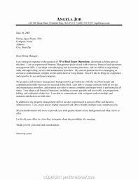 Executive Cover Letters Samples Creative Cover Letter Samples For Property Manager Positions Estate