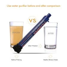 survival water purifier. Outdoor Water Filter Purifier With Extension Tube Portable Hiking Drin \u2013 DealStream Survival K