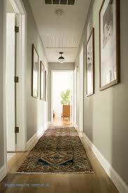 Modern Travel Gallery in Hallway with DIY Mat Board Cutting Tutorial