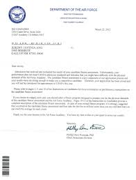 Air Force Letter Of Recommendation Air Force Academy Recommendation Letter Choice Image Letter Cover 7