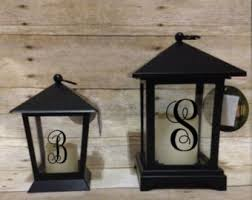 outdoor candles lanterns and lighting. lanterns candle wedding decor outdoor monogrammed personalized candles and lighting