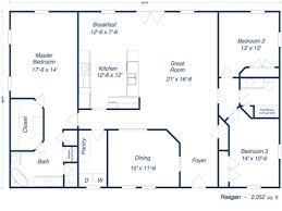 Metal House Designs Plans Furthermore 30 X 50 House Floor Plans Besides Barndominium