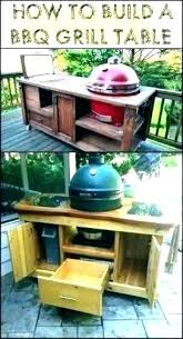 outdoor kitchen grill electric built in griddle hibachi table with tabletop dining restaurant island into picnic