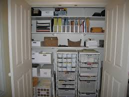 home office closet organization home. Simple Organization Chic Home Office Closet Featuring Double Door S M L F Source And Home Office Closet Organization O