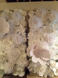Flower Wall Pancakes Glue Guns Diy Paper Flower Wall