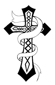 Small Picture Christian Celtic Cross Coloring Pages Best Place to Color