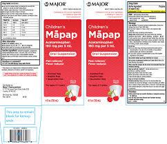 Ndc 0904 6536 Mapap Childrens Acetaminophen
