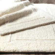 farmhouse bathroom rugs reversible cotton ivory bath rug farmhouse style bathroom rugs