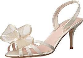 Kate Spade Shoe Size Chart Amazon Com Kate Spade New York Womens Salerno Ivory Satin
