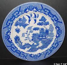 Blue China Pattern Awesome Flair Fine China Blue Willow 48 China Replacements