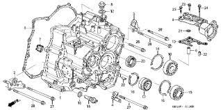 honda online store 2003 accord at transmission case v6 parts 2003 accord ex v6 navi 4 door 5at at transmission case v6