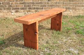 build a simple wood bench