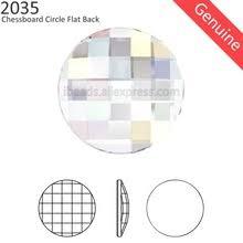 Оригинальные кристаллы от <b>Swarovski</b> 2035 chessboard circle ...