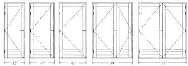 Standard Closet Door Size Standard Bedroom Door Height Medium Size Of  Standard Closet Door Plan Closet