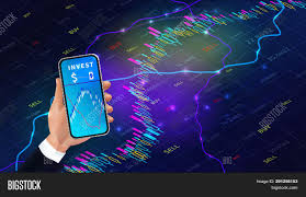 Forex Chart App Online Forex Trading Vector Photo Free Trial Bigstock