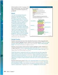 direct students to page in their student books use the pdf transition words help a writer or a reader move through the supporting details so we