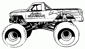 Small Picture free printable monster truck coloring pages for kids popular