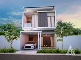 Model atap rumah minimalis 2 lantai terbaru. 100 Model Rumah Minimalis 2 Lantai Modern Inspiratif