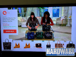 tv qvc. for example, the qvc app brings tv interactivity to front and center. you can watch actual channel while ordering items perusing off-air tv qvc e