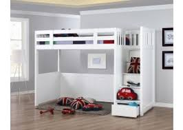 New Hampshire Super Single Storage Loft Bed
