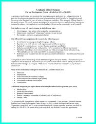 Cv For Graduate School Application 72 Images Resume For