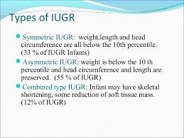 Iugr Vs Sga Growth Chart Iugr And Sga