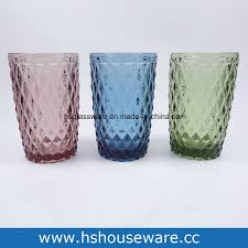 china coloured highball drinking glasses glass cups china glass tumbler glass cup