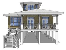 beach house plans on pilings. Image Of Decorating Beach House Plans Pilings On