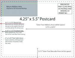 Oversized Postcard Template Dazzleshots Info