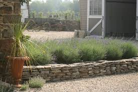 Small Picture Flat fieldstone raised bed Project The Spruces Pinterest