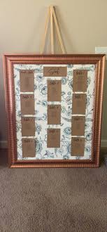 Seating Chart Display With Frame And Fabric Wedding Decoration Size Only 50 00