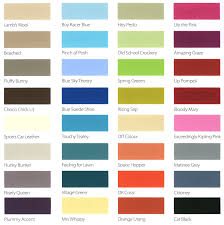 B And Q Colours