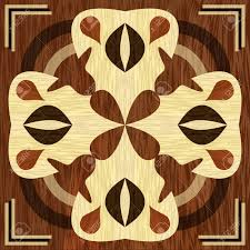 Wood Inlay Patterns Beauteous Wooden Inlay Light And Dark Wood Patterns Veneer Textured Antique