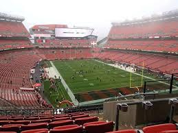 Cleveland Browns Stadium Seating View Bulutlar Co
