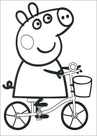 Coloring Pages Peppa Pig Coloring Sheets Free Printable Pages For