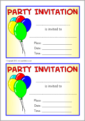 Party Invites Template Under Fontanacountryinn Com