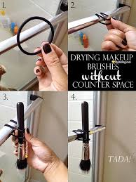 drying makeup brushes without counter e by lifedarling