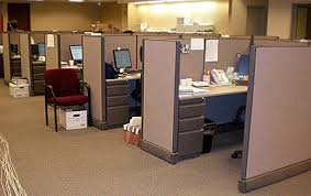 Person Office Choose Your Layout Options Panel Height Storage Units Chairs And Well Work Out All The Technical Details For You Cubicle Interior Conceptdrawcom Bina Office Furniture Queens Nyc Cubicle Floor Plan