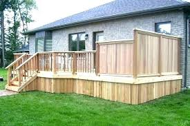 outdoor privacy panels deck screen canada scre