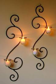 iron wall holder metal wall candle holders wall mounted long holder using wrought iron candle holders iron wall holder