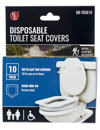 contemporary disposable toilet seat covers luxury 10 pack disposable toilet seat covers for travel camping school