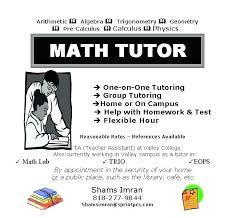 Computer Definition Math Math Tutoring Flyer Template