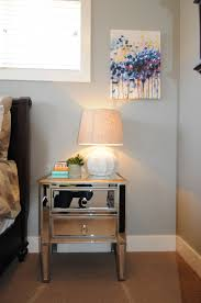 modern mirrored furniture. Awesome Mirrored Nightstand For Your Bedroom Furniture Ideas: Decorating Narrow Bedside Table Modern E