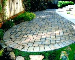 edging for paver patio