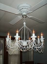 brilliant ceiling fan with crystal chandelier light kit winda 7 intended for 12